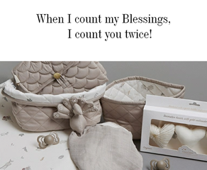 When I count my Blessings..
