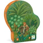 DJECO Silhouet puzzel in the jungle