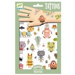DJECO kindertattoos monsters