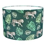 Lamp kinderkamer Jungle tijger groen van Land of Kids