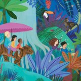 DJECO grote puzzel jungle wandeling 200 st