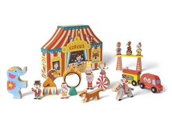 Janod Circus Story Box 3jr+