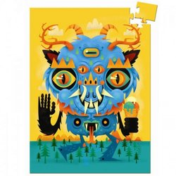 Djeco Puzzel The Monster 60 st.