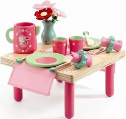 DJECO Ontbijttafel Lili Rose hout