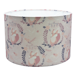 Hanglamp woodland Vos oud roze