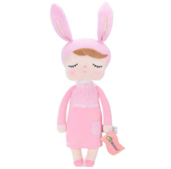 MeToo Angela Lapin Doll Roze