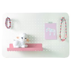 Magneetbord Pegboard Wit M