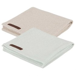Little Dutch Swaddle doek Mint/Beige (set van 2)