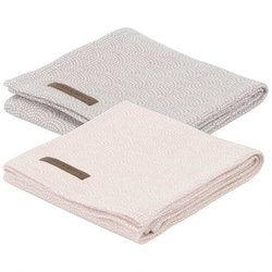 Little Dutch Swaddle doek Pink/Mauve (set van 2)