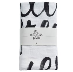 Mies & Co Swaddle Great Adventures 120x120cm