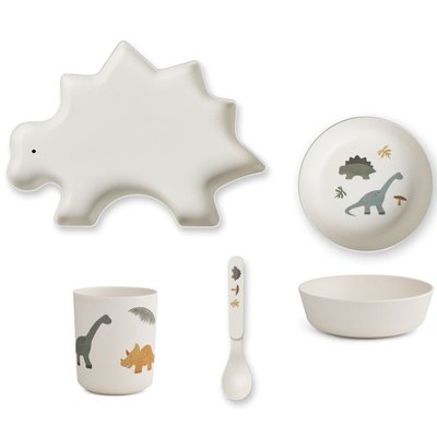 LIEWOOD kinder servies Dino mix