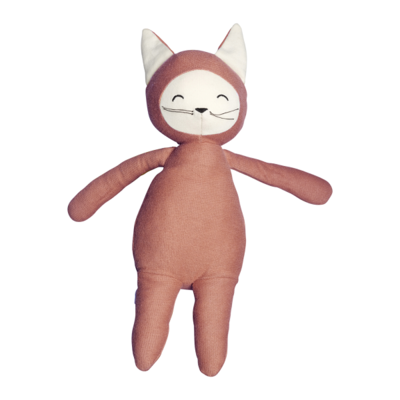 Fabelab Knuffel Buddy Fox Clay