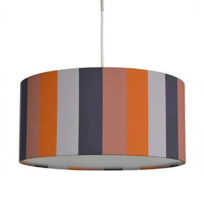 Hanglamp Stripe Mustard, Blue, Rose