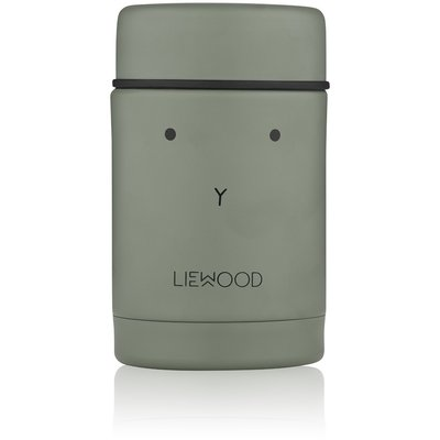 LIEWOOD Nadja Food Jar Rabbit Faune Green