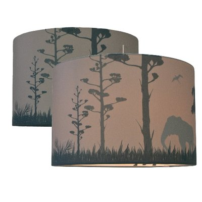 Kinderlamp Silhouette Safari camel