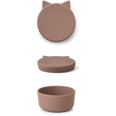 LIEWOOD Cornelius Snack Box Cat Dark rose