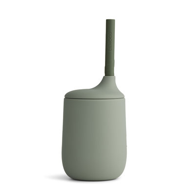 LIEWOOD Sippy Cup Ellis Siliconen Faune green
