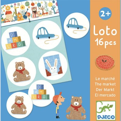DJECO Lotto Winkel 2jr.+