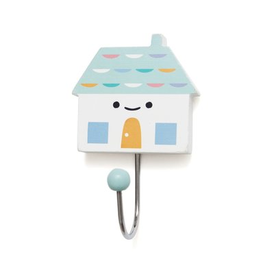 kinderkapstok haakje Little House Soft Aqua