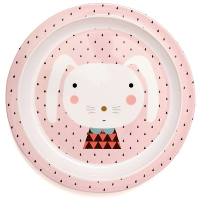 Melamine bord Rabbit Drops Petit Monkey