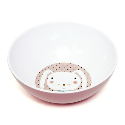 Melamine Kom Rabbit Drops Petit Monkey