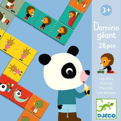 DJECO Reuze Domino Friends 3jr+