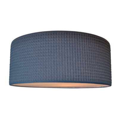 Plafondlamp Old Blue wafel