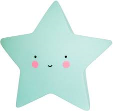 A Little Lovely Company Star Nightlight Mint