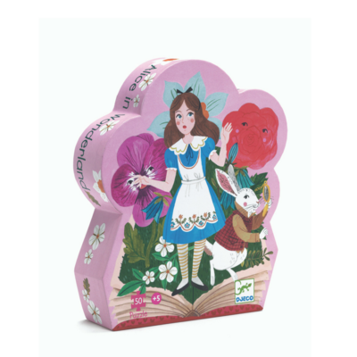 DJECO Puzzel Alice in Wonderland 5jr+