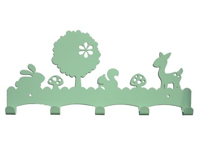 kinderkapstok Woodland Mint Eina Design