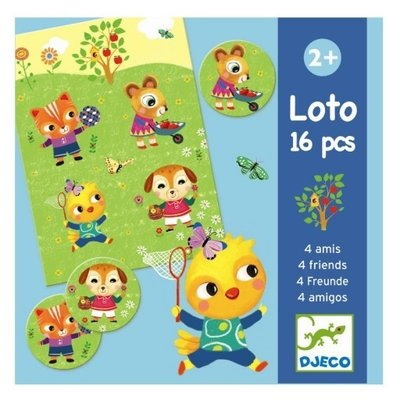 DJECO Lotto Bingo 2jr+
