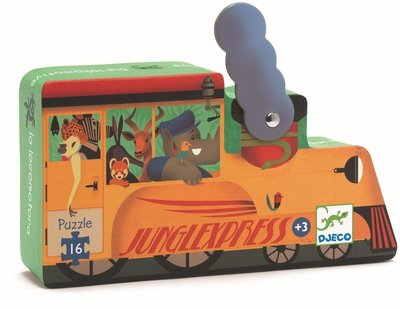 DJECO Puzzel La Locomotive 3jr+