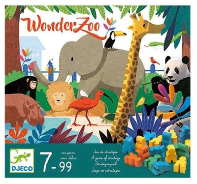 DJECO Wonderzoo strategie spel