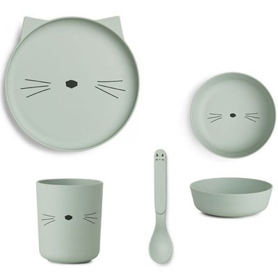 LIEWOOD servies bamboe Cat mint