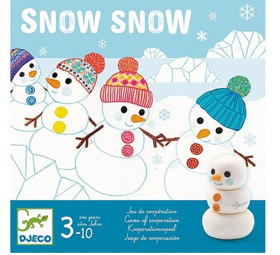 DJECO Snow Snow bordspel 3jr+