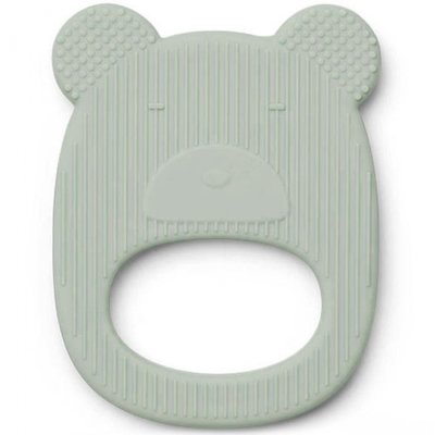 LIEWOOD bijtring Mr Bear dusty mint