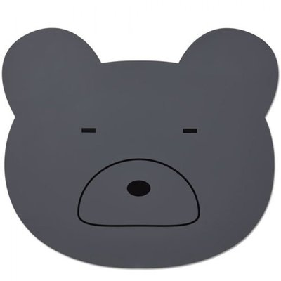 LIEWOOD Placemat Mr Bear stone grey