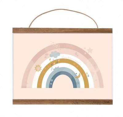 Mimirella Poster Magic Rainbow A4