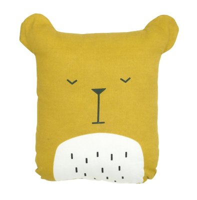 Fabelab Kussen Lazy Bear Honey
