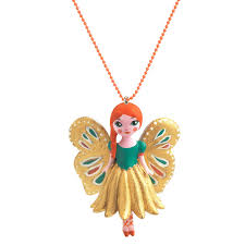 DJECO Kinderketting Lovely Charms Vlinder