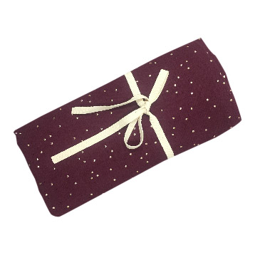 Hydrofiel Swaddle burgundy gold
