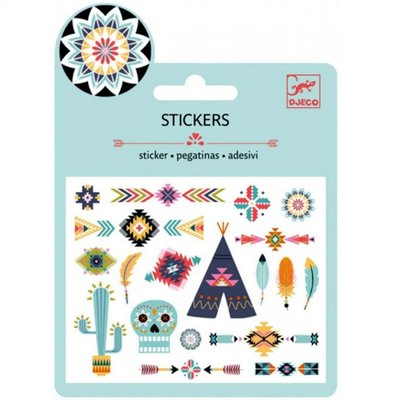 DJECO Stickers Western Tribal