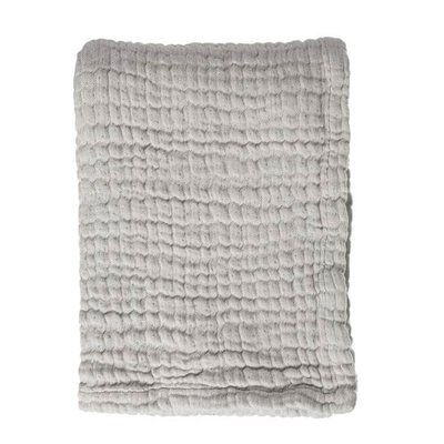 Mies & Co Mousseline wiegdeken Gentle Grey