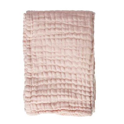 Mies & Co Mousseline wiegdeken Soft Pink