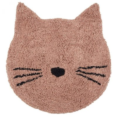 LIEWOOD Vloerkleed Bobby Rug Cat rose