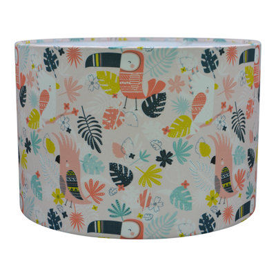 Kinderlamp hanglamp Roze Toucan