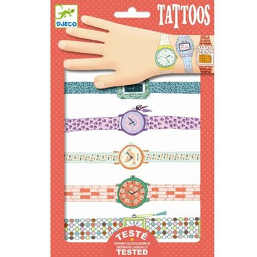DJECO Kindertattoo Wendy's horloges