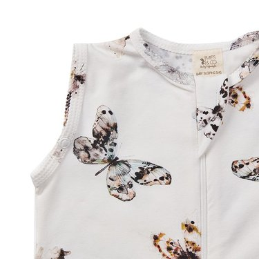 Mies & Co Slaapzak Fika Butterfly Offwhite