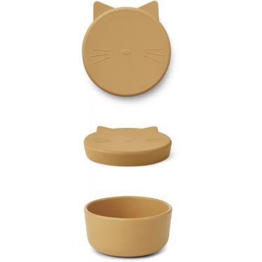 LIEWOOD Cornelius Snack Box Cat Yellow Mellow