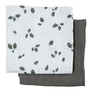 Fabelab Swaddle 2-pack Oak Leaf